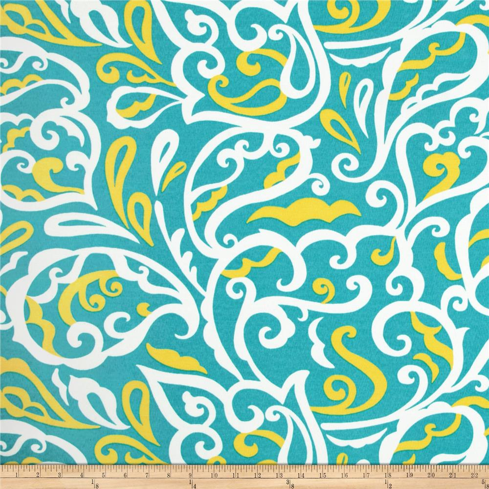 Richloom Solar Outdoor Albany Turquoise