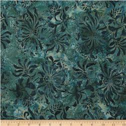 Moda Hope Chest Batiks Serendipity Meadow Stone Blue