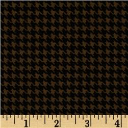 North By Northwest Flannel Great Scotts Houndstooth Brown