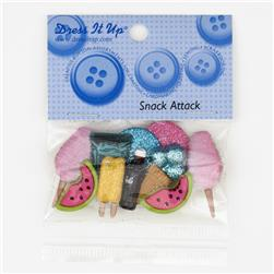 Dress It Up Embellishment Buttons  Snack Attack