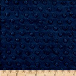 Michael Miller Minky Solid Dot Navy