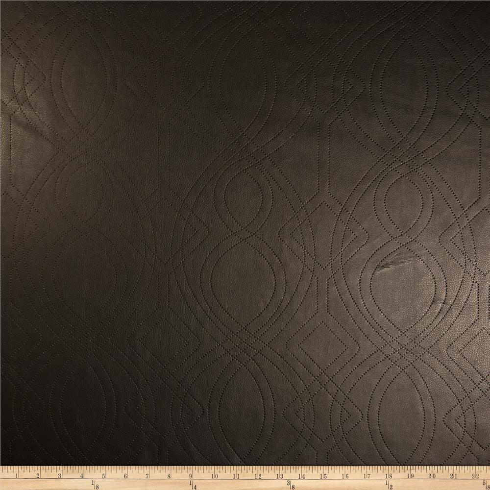 Richloom Faux Leather Graham Espresso