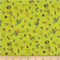 Sunshine Zoo Letter and Numbers Toss Green