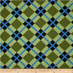 Enchanted Perpetual Plaid Green