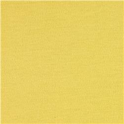 Organic Cotton Interlock Knit Yellow