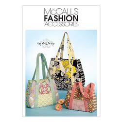 McCall's Tote Bag In 3 Sizes Pattern M5822 Size OSZ