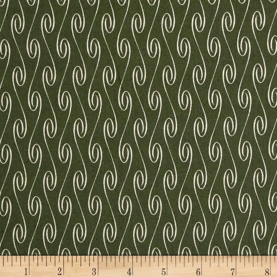 Santa Claus Twisted Stripe Green