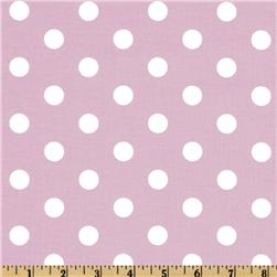 Spot On Polka Dots Pink Fabric