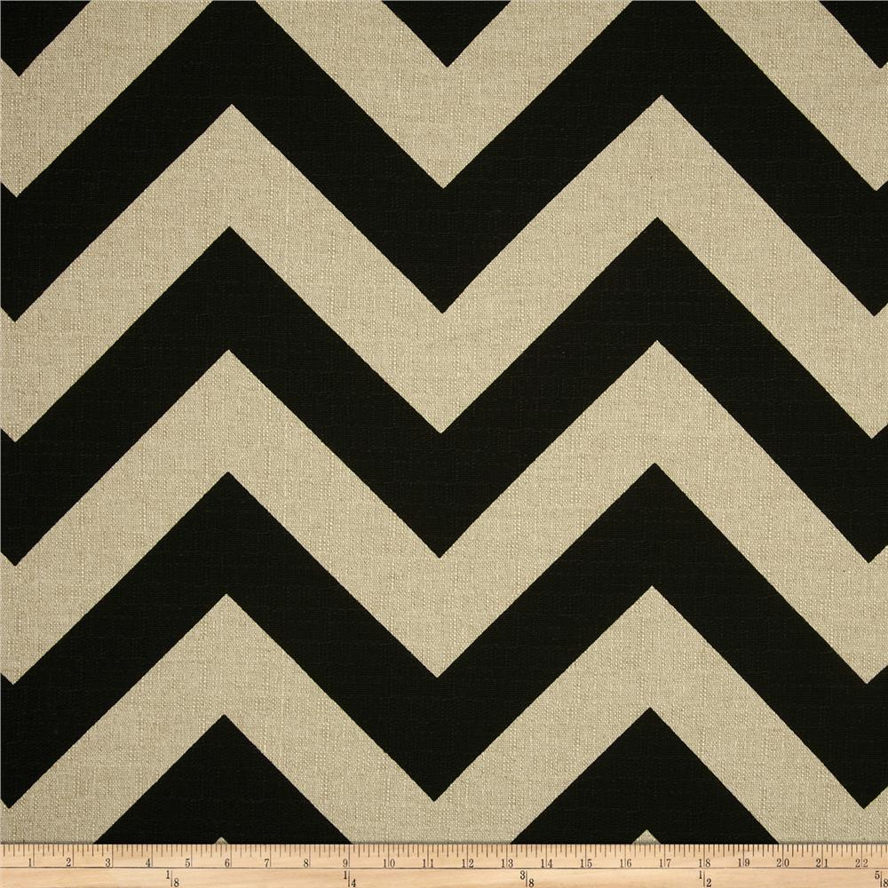 Premier Prints Zippy Black/Denton