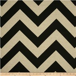 Premier Prints Zippy Black/Denton Fabric