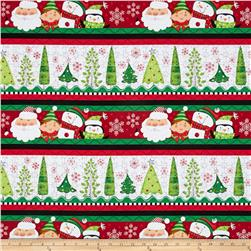 Holly Jollies Decorative Stripe Red/Green