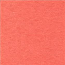 Cotton Spandex Jersey Knit Solid Light Salmon