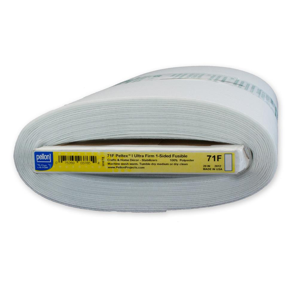 Pellon 71F Peltex Fusible Stabilizer - By the Yard - White