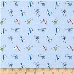 Lewis & Irene Small Things On The Move Planes Light Blue