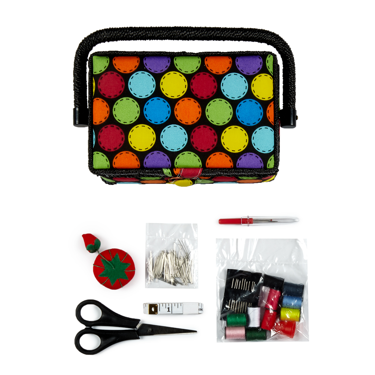 INOpets.com Anything for Pets Parents & Their Pets Singer Sew Essentials Sewing Basket Kit