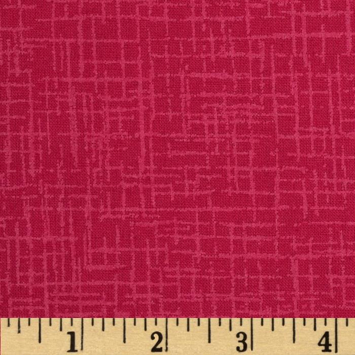 110 In. Wide Quilt Back Betula Hot Pink