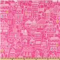 Irving Street Flannel Downtown Pink