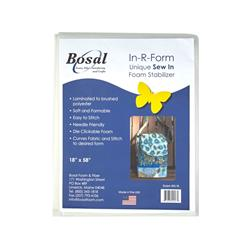 Bosal In-R-Form Sew-In 1/2 yard Foam Stabilizer