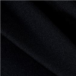 Activewear Spandex Knit Solid Black