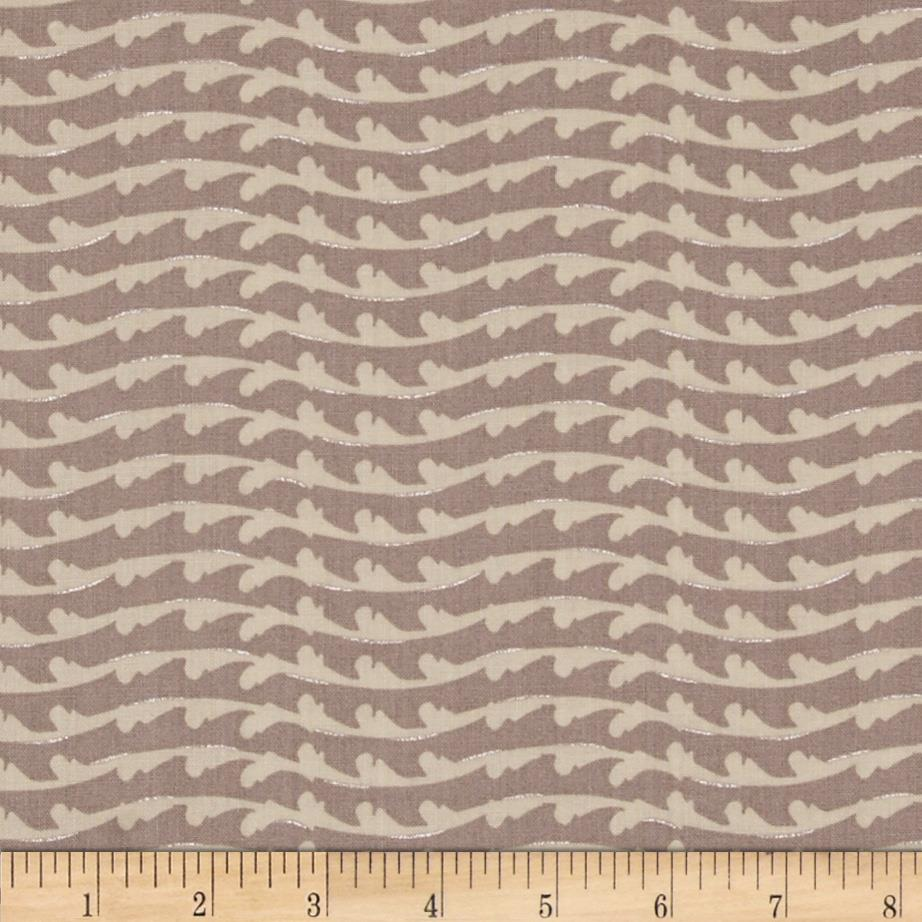 Lonni Rossi's Geo Waves Grey