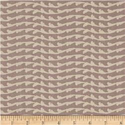 Lonni Rossi's Geo Waves Grey Fabric
