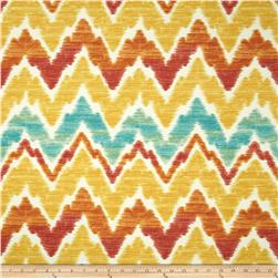 Swavelle/Mill Creek Indoor/Outdoor Tiago Chevron Tropical Fabric
