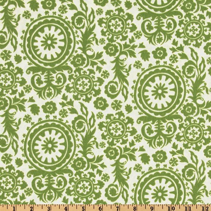 Premier Prints Indoor/Outdoor Royal Suzani Greenage