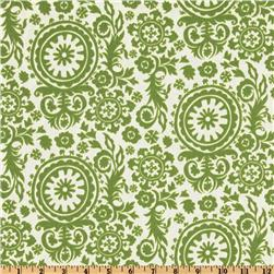Premier Prints Indoor/Outdoor Royal Suzani Greenage Fabric