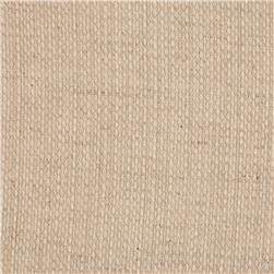 Kaufman Raw and Very Refined Linen Blend Dobby Natural 9.5 oz.
