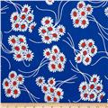 Denyse Schmidt Katie Jump Rope Daisy Bouquet Royal Blue