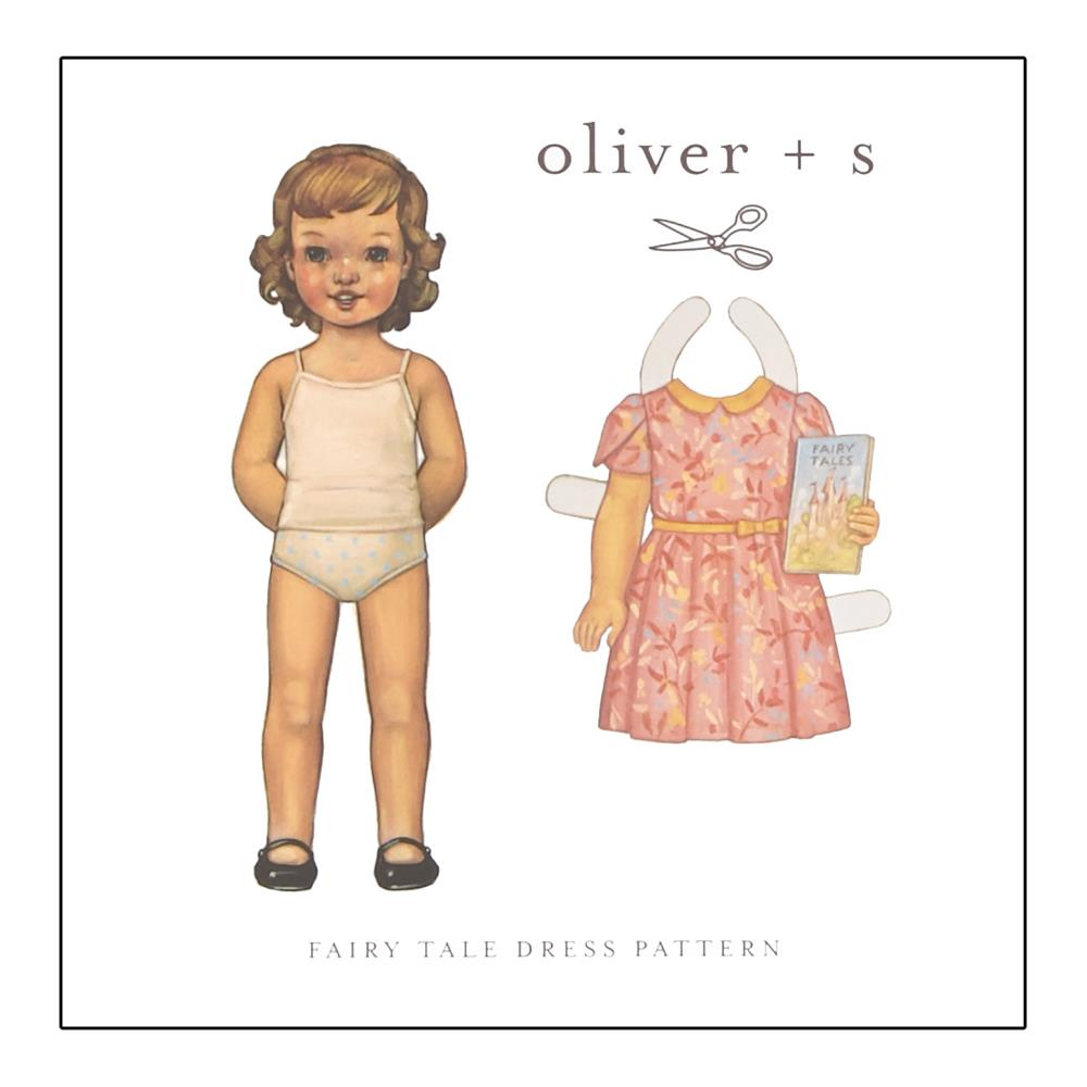 Oliver + S Fairy Tale Dress Pattern 6m-4T