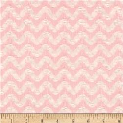 Lace Chevrons Light Peachy Pink