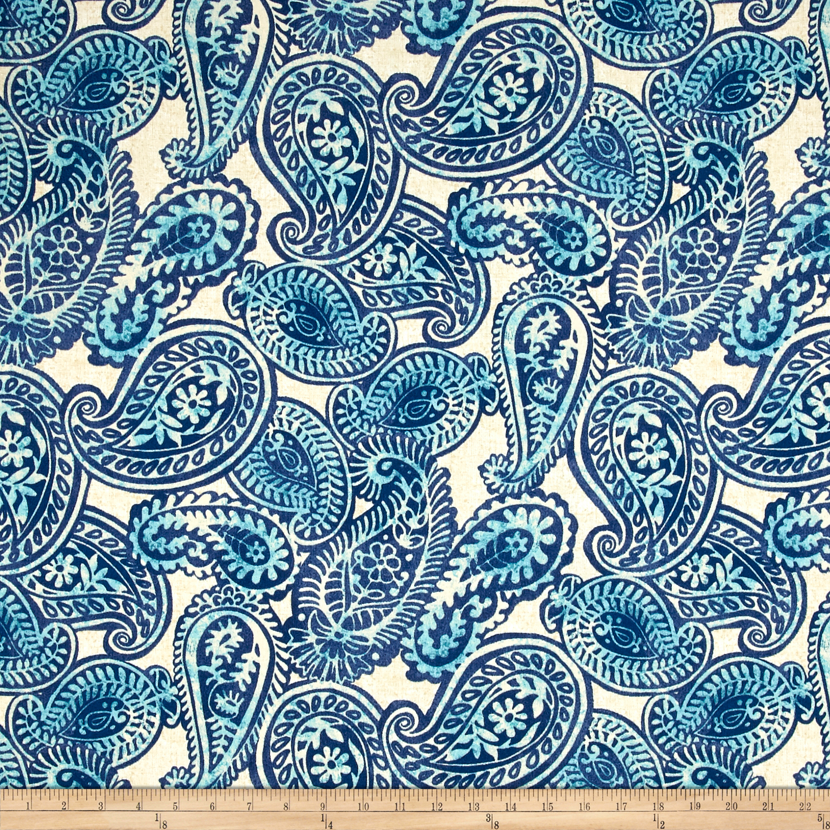 Tommy Bahama Indoor/Outdoor Summery Spin Lake Fabric by Waverly in USA