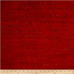 EverSewn Cork Fabric 1 Yard Red