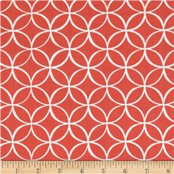 Michael Miller Tile Pile Coral Fabric