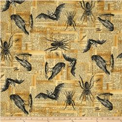 Sleepy Hollow Critters Spooky Ochre