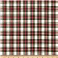House of Wales Plaid Ivory