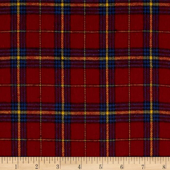 Windstar Flannel Plaid Red/Blue