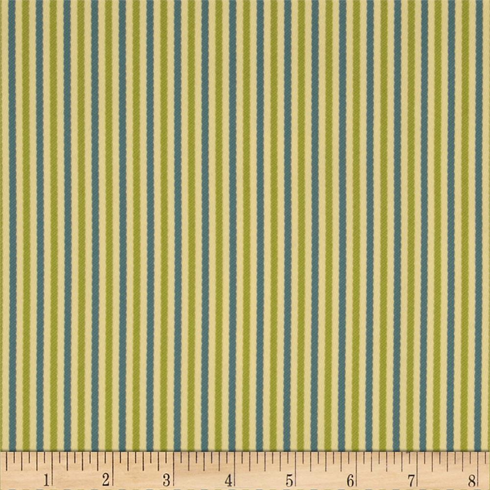Bella Dura Eco-Friendly Indoor/Outdoor Asbury Stripe Off