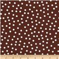 Remix Tossed Dots Brown
