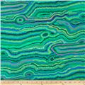 Kaffe Fassett Collective Meadow Jupiter Malachite