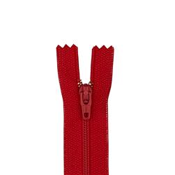 "Coats & Clark Poly All Purpose Zipper 9"" Red"