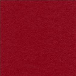 The Season Wool Collection Wool Melton Cranberry