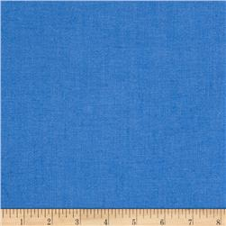 European Linen/Cotton Blend French Blue