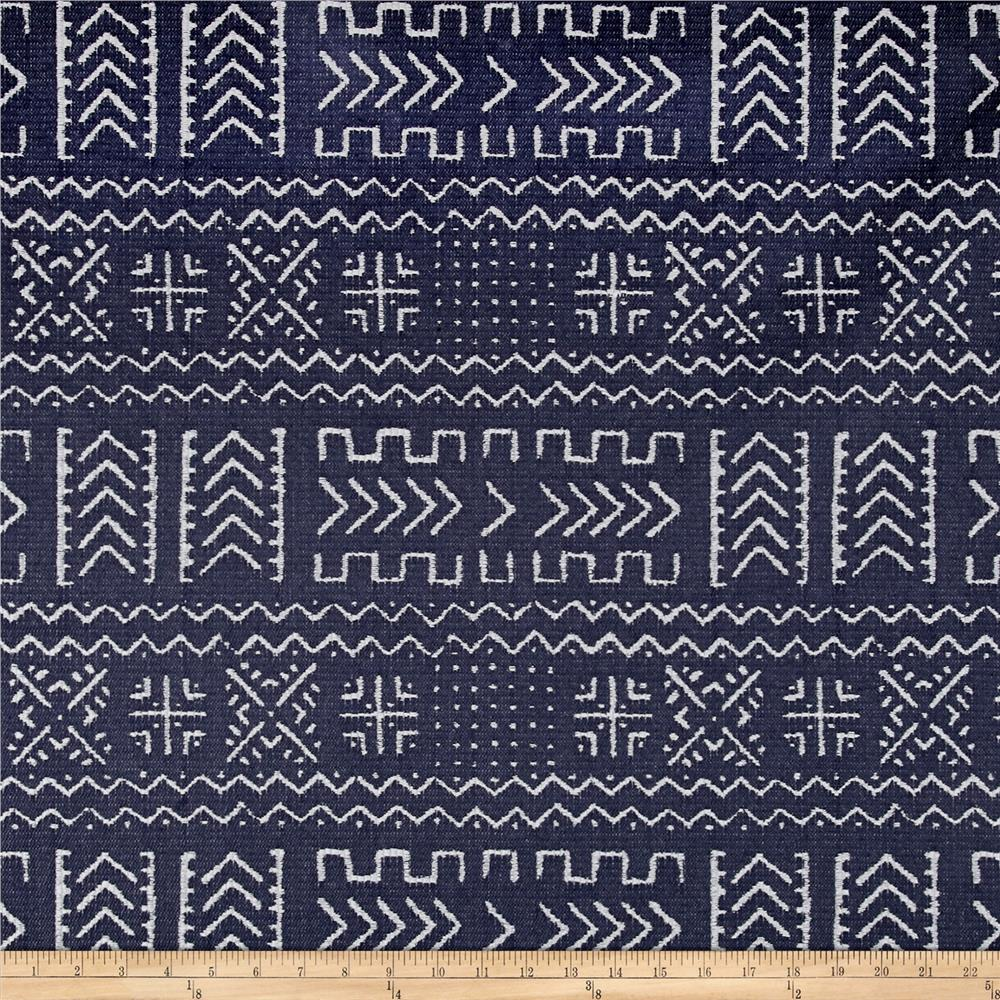 Covington Mazinda Tribal Jacquard Navy