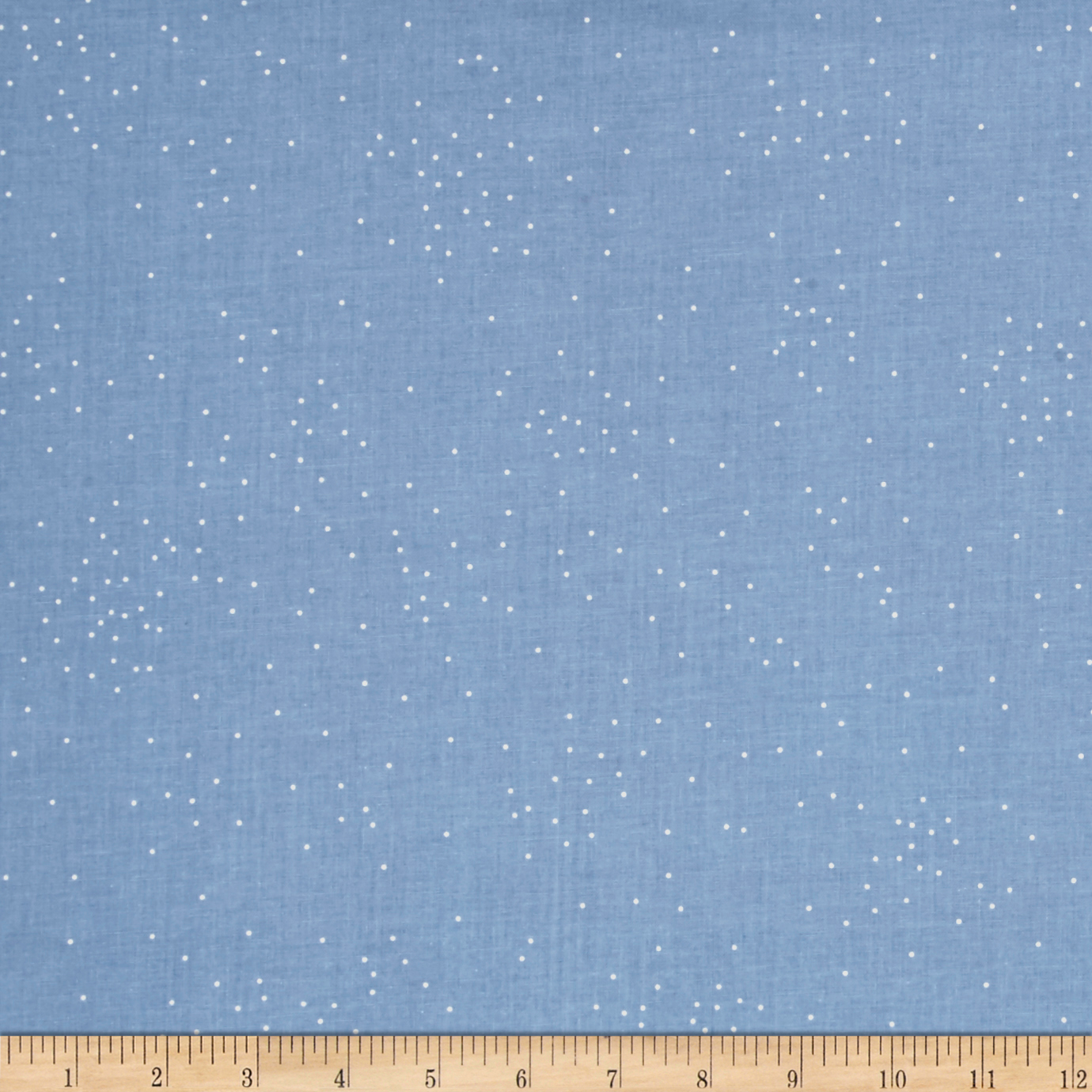 Image of Cotton + Steel Basic Sprinkle Anna Blue Fabric