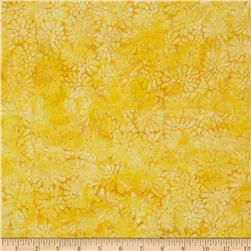 Batavian Batiks Flower Power Golden/Yellow