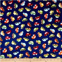 Shannon Minky Cuddle Prints Honk! Royal
