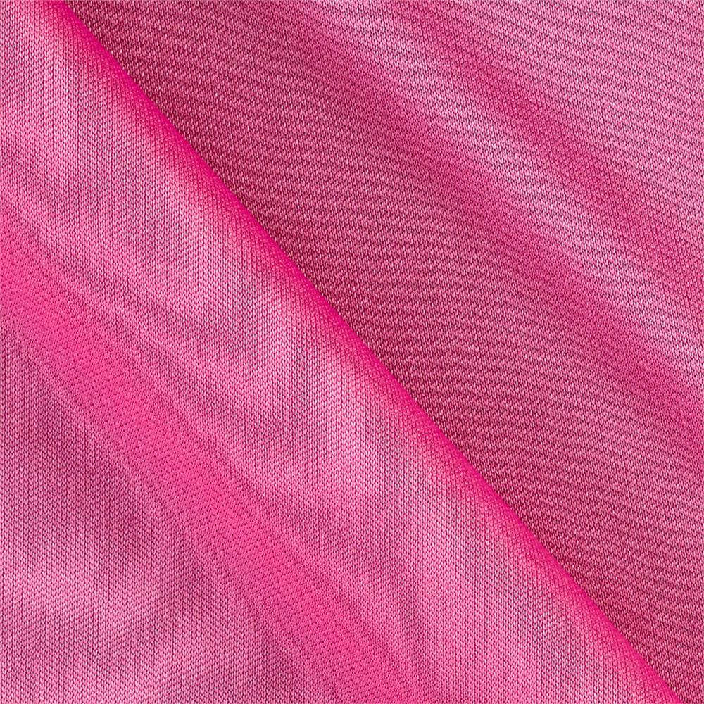 Nylon Activewear Knit Solid Carnation Pink