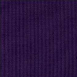 Stretch Rayon Rib Knit Purple